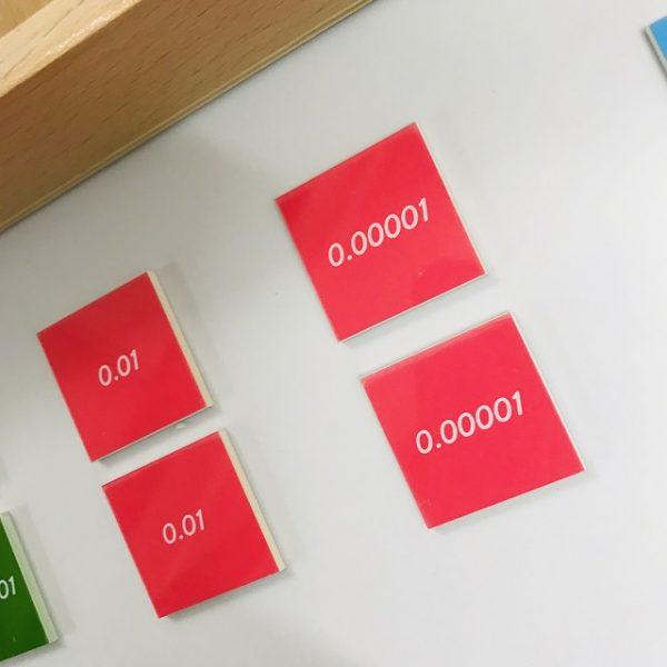 Decimal Stamp Game