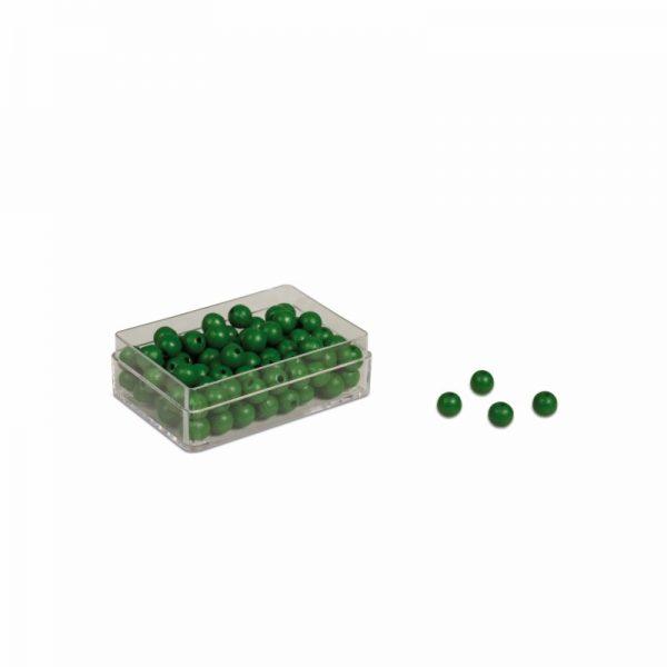 Nienhuis Green Beads