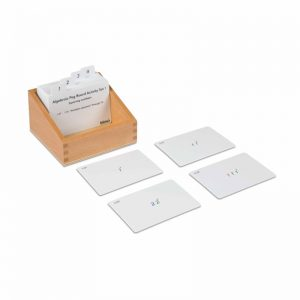 Algebraic Peg Board Activity Set 1