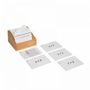 Multiplication Board Activity Set