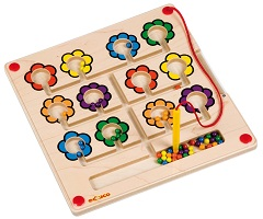 Motor Skills Board - Flowers - Educo - MotorPlay-FineMotorSkills