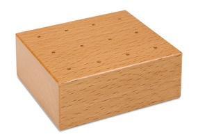 12 Hole Storage Block-For Punch-Out Pins