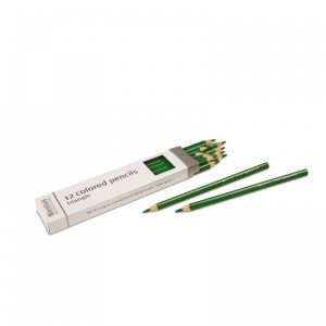 3-Sided Inset Pencils Green
