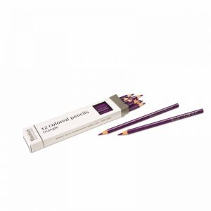 3-Sided Inset Pencils Violet