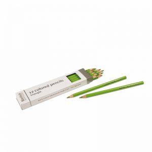 3-Sided Inset Pencils Light Green