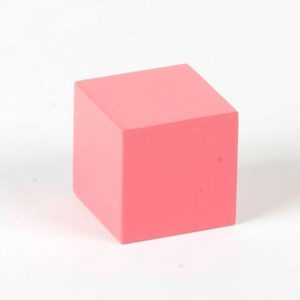 Nienhuis 4th Pink Tower Cube