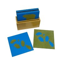 Land Form Cards - Childrens House Range