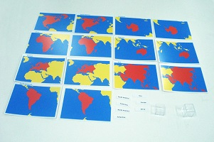 Cards of the World Parts - Childrens House Range