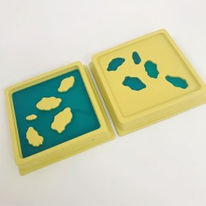 Land and Water Form Trays