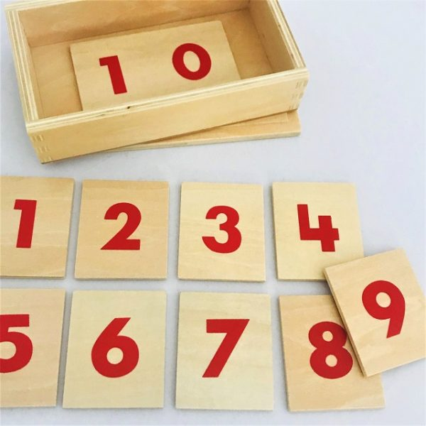 Printed Numerals in a Box