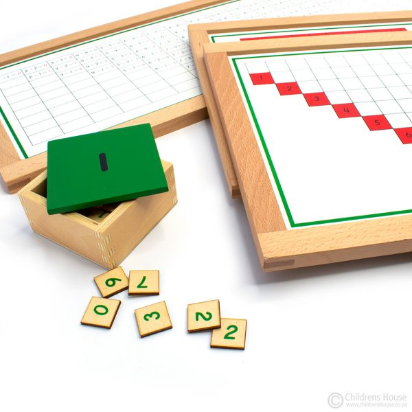 Subtraction Working Charts