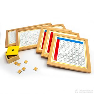 Multiplication Working Charts