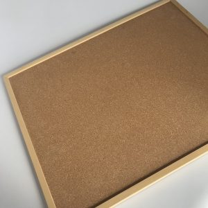 Cork Working Board for Geometric Stick Material