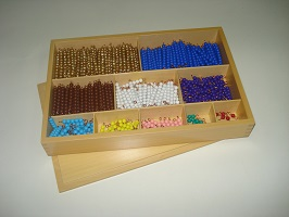 Multiplication Bead Bar Layout Box