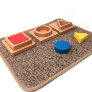 Small Carpet with 3 Puzzles (sold separately)