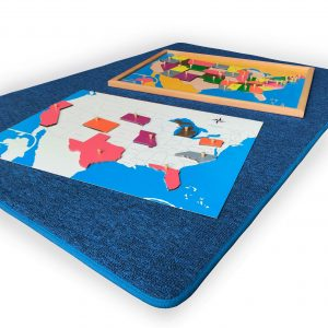Big Blue CarpetBig Blue Carpet - the puzzle maps are sold separately