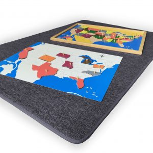 Big Grey Carpet - the puzzle maps are sold separately