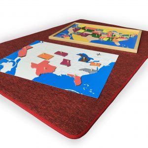 Big Red CarpetBig Red Carpet - the puzzle maps are sold separately