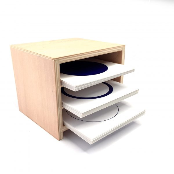 The Geometric Form Card Cabinet