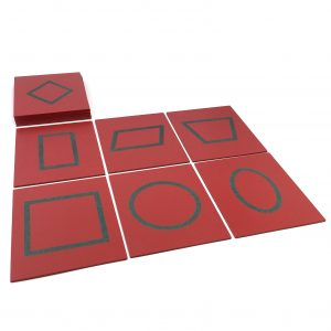 The Geometric Sandpaper Cards