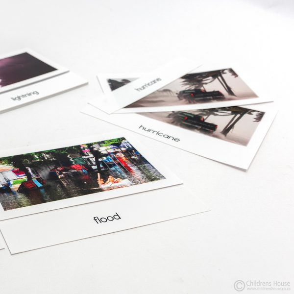 Weather - 3 Part Cards