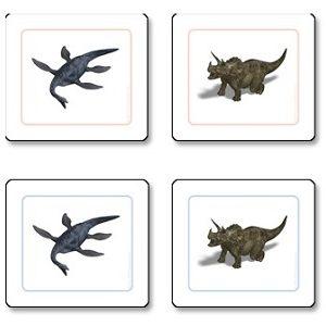 Dinosaur Matching Cards