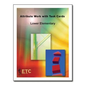 Attribute Work with Task Cards Grade 1-3