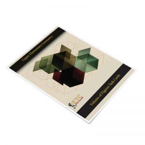 Geometry - Grade 4-6 - Volume - Cardstock