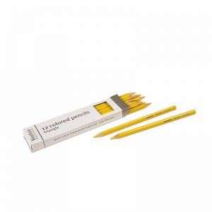 3-Sided Inset Pencils Light Yellow