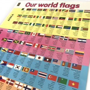 Z9781576610053 - Our World Flags