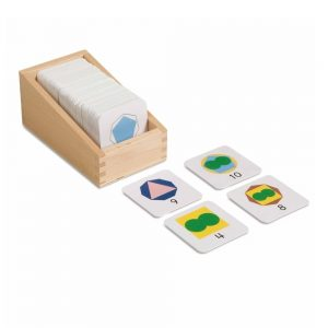 Box with Small Numeral Cards