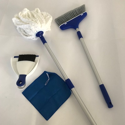 Broom, Mop & Dustpan Set