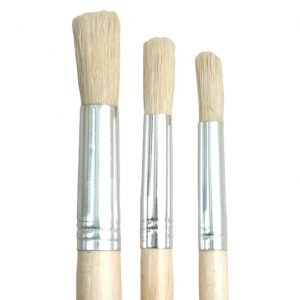 Short Handled Round Brushes - Set 504