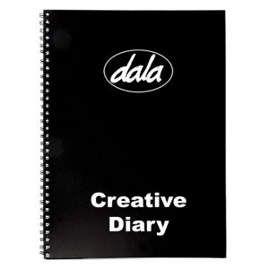 Creative Diary (Visual Note Pad) - Black (Hard Cover)
