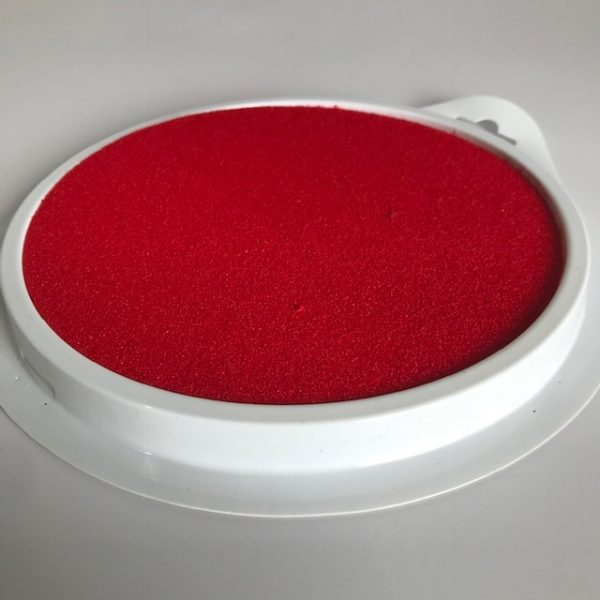 Red Jumbo Stamp Pad