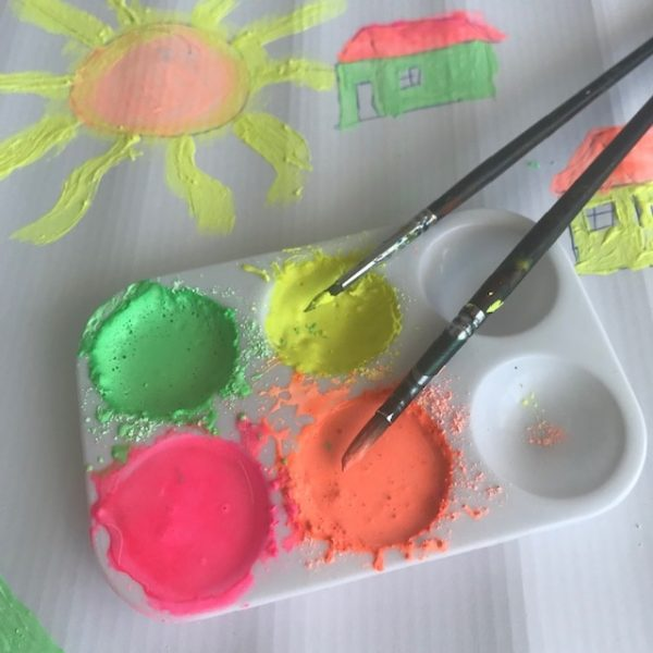 Neon Tempera Powder
