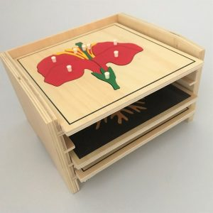Cabinet for 3 Puzzles