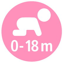 Infant - birth to 18 months