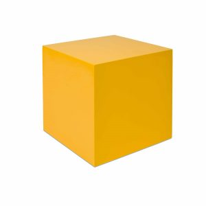 One Yellow Cube