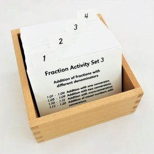 Fractions Activity Set: 3
