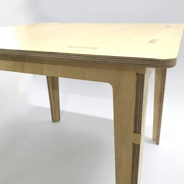 Birch Ply Table Square 60x60
