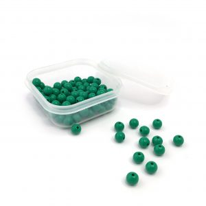 Set of 100 Green Beads