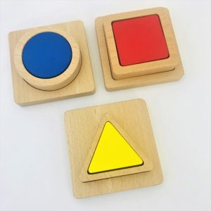 3 Puzzles: Square, Circle, Triangle