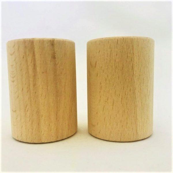 Wooden Cylinder Shaker