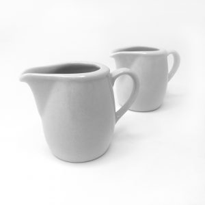 Ceramic Jug - White 50ml