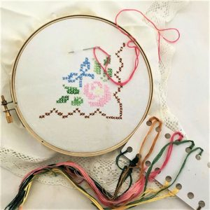 Sewing or Embroidery Hoop