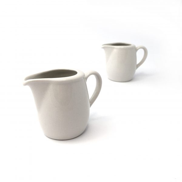 Ceramic Jug - White 100ml