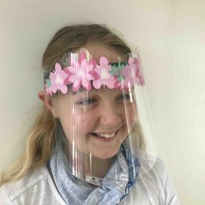 Designer Face Shields for Kids