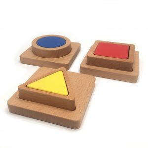 3 Puzzles Square, Circle, Triangle v4