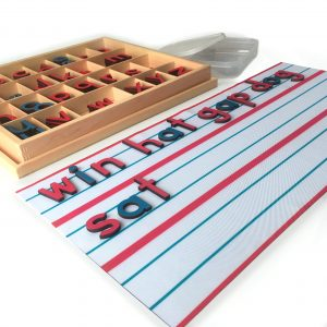 Mat for Small Movable Alphabet